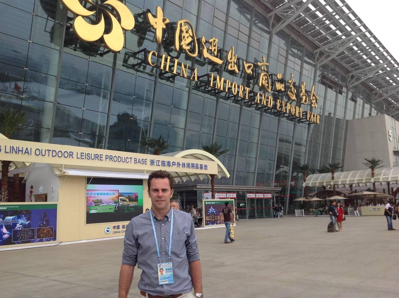Jiří Svoboda - zkušenosti z veletrhu v Číně